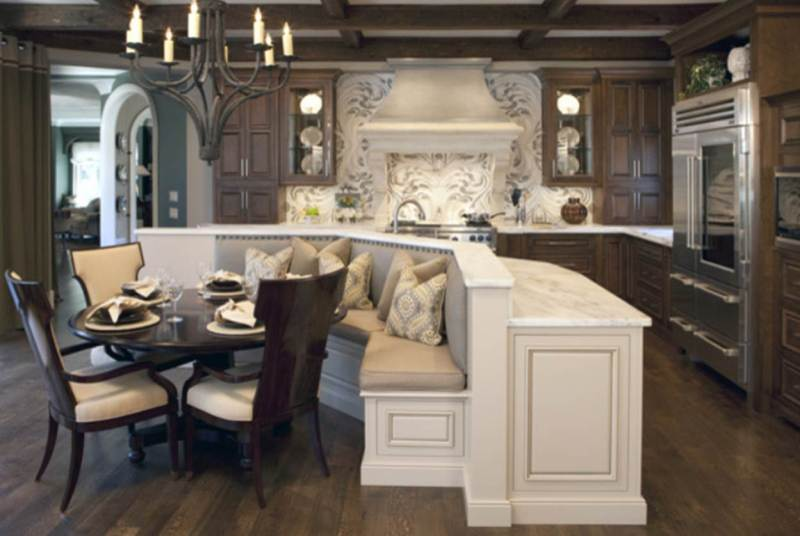 kitchen table island plans