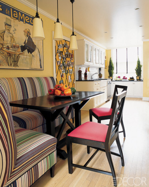 Kitchen Banquettes: Banquette Built-In « Corinne Gail
