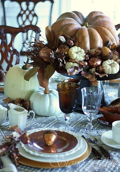 brown tablesetting TG